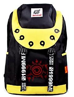 naruto Naruto Uzumaki zwart&geel cosplay rugzak / tas