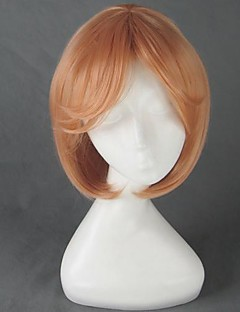 люблю жить! Hoshizora рин короткие оранжевый парик косплей