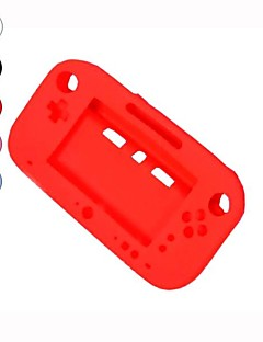 silicone morbido gel protezione completa del manicotto della copertura di caso per nintendo wii u gamepad