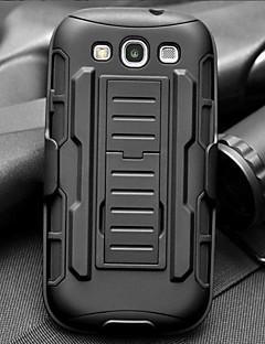 Traka kap spona otpornost oklopa zaštitna jakna s postoljem i kopčom za Samsung Galaxy S3 i9300