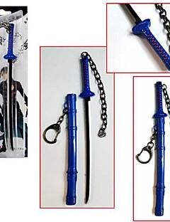 נשק / חרב קיבל השראה מ Blue Exorcist קוספליי אנימה אביזרי קוספליי חרב כסף סגסוגת זכר / נקבה