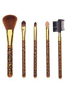 5 Set di pennelli Pennello di nylon / Capelli sintetici Viso / Labbro / Occhi Altro