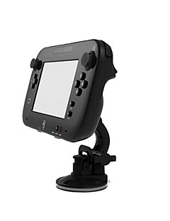 360 Degree Rotating Car Stand Dock Mount Holder for Nintendo Wii U Gamepad