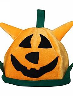 Orange Pumpkin Halloween Party Hat