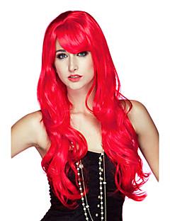 Cosplay Perücken / Maskerade Cosplay Fest/Feiertage Halloween Kostüme Rot einfarbig Perücke Halloween / Karneval Frau