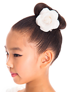Dance Accessories Headpieces Children's Performance Spandex Ivory Performance