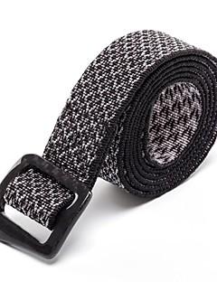 Rockway® Outdoors Unisex Carbon Fiber Buckle Nylon Black Low Profile Belt
