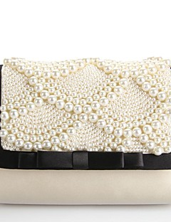 Imitation Pearl/Fabric Wedding Cross-Body bags/Shoulder Bags with Imitation Pearl