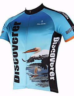 PaladinSport Mænds Flamingos foråret og sommeren Style 100% Polyester Kortærmet Cycling Jersey