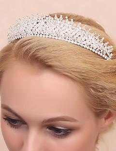 lindo casamento liga de tiara de noiva / headpiece
