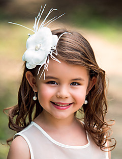 Polyester Flower Girl Kids' Flower Headpiece(More Colors)