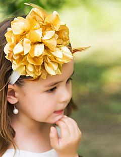 Capacete Flores Casamento/Ocasião Especial Seda Mulheres/Menina das Flores Casamento/Ocasião Especial