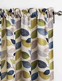 philips jeune - (un panneau) multicolore contemporain et minimaliste laisse rideau