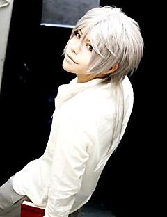 Cosplay Wigs Cosplay Shogo Makishima Silver Medium Anime Cosplay Wigs 60 CM Heat Resistant Fiber Male