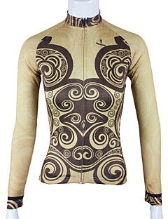 PALADIN® Cycling Jersey Women's Long Sleeve Bike Breathable / Quick Dry Jersey / Tops 100% Polyester Spring / Summer / Fall/Autumn