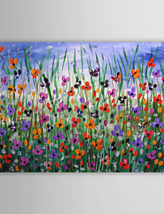 Oil Painting Floral 1211-FL0016 Hand-Painted Canvas
