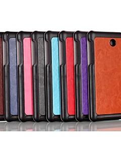 에이서 ICONIA a1-840 태블릿 8 인치 트리플 접는 패턴 고품질 우레탄 leathe 케이스 (모듬 색상)