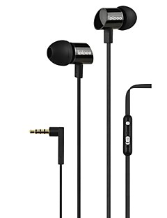 Ipipoo A300hi 3.5mm High Quality Stereo Earbuds With Mic For Iphone 6, Iphone 6 Plus (Assorted Color)