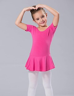 Kids' Dancewear Dresses Women's / Children's Spandex Short Sleeve 110:50,120:53,130:56,140:59,150:61,160:64,170:67,180:70