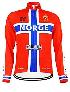 Kooplus Camisa para Ciclismo Mulheres Homens Unissexo Manga Comprida Moto Camisa/Roupas Para Esporte BlusasZíper á Prova-de-Água Vestível