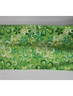 Superfine Fiber Green Flower 100% polyester Sport Towel