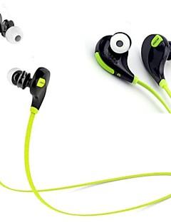 deporte qy7 desgaste auricular bluetooth 4.1 estéreo en la oreja con micrófono para teléfonos inteligentes