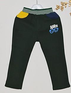 Spodnie-Chłopca-Zima / Jesień-Jendolity kolor-Bawełna