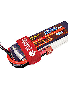 kudian rc batteri 35C 2600mAh t plug 6s