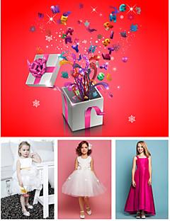 Livraison gratuite sac chanceux contient les robes de trois enfants
