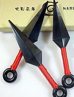 Waffen Inspiriert von Naruto Cosplay Anime Cosplay Accessoires Waffen Schwarz Technisches Plastik Mann / Frau