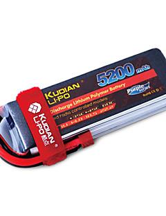 kudian rc batteri 60c 5200mAh t plug 4s
