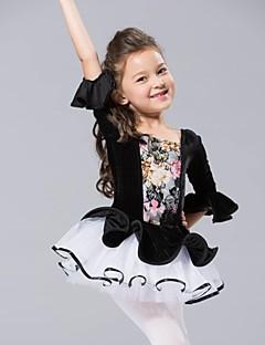 Kids' Dancewear Tops / Dresses&Skirts / Tutus Children's Chiffon / Velvet Ballet / Performance Half Sleeve
