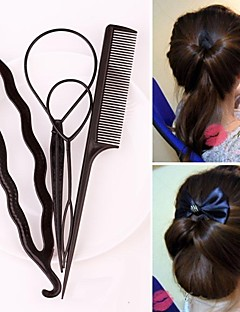 Hair Care Set with Comb and Hairdisk
