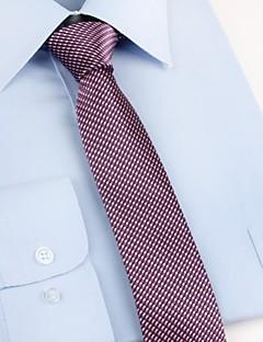עניבת צווארון וינטאג' / מסיבה / עבודה / יום יומי,גברים פוליאסטר