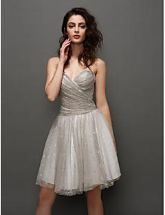 retour ts robe couture cocktail - bal Sweetheart court de mini dentelle /