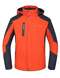 לגברים מעילי סקי/סנובורד / ז'קטים לחורף סקי / מחנאות וטיולים / טיפוס / החלקה / ספורט שלג עמיד למים / נושם / עמיד / מבודד חורףירוק / אדום