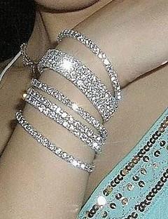 Herre Dame Par Kjeder & Lenkearmbånd Armbånd Brude Erklæringssmykker kostyme smykker Fuskediamant Smykker Smykker Til Bryllup Fest Daglig