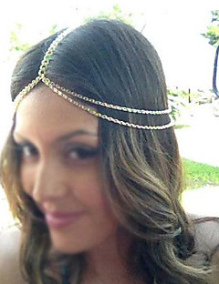 Miss ROSE®Fashion Double Chain Golden Headband