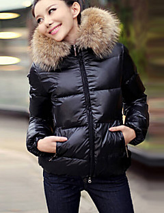 w.s.e 여성의 fshion 캐주얼 따뜻한면 코트