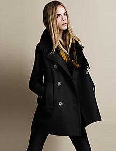 baibian женщин моды случайные теплый ветер пальто