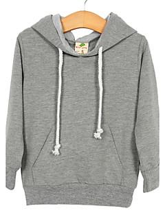 Bluza z kapturem / bluza-Chłopca-Na każdy sezon-Jendolity kolor-Mieszanka bawełny