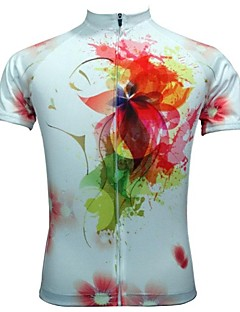 JESOCYCLING® Cycling Jersey Women's Short Sleeve Bike Breathable / Quick Dry Jersey / Tops Polyester Floral / Botanical Spring / Summer