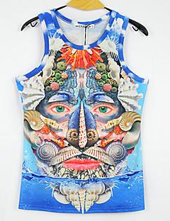 mclean Herrenmode 3D-Drucke sleeveless T-Shirt