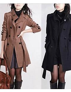yuntuo®women módní dvouřadý kabát 13