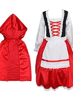 The Little Red Riding Hood Kids Cosplay Costume