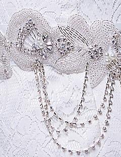 naisten tyylikäs muoti ohut satiini kukka strassi vyö (lisää värejä)