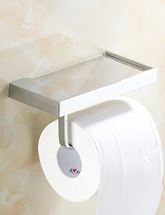 Toilet Paper Holder Chrome Wall Mounted 170*90mm(6.69*3.54inch) Brass Contemporary