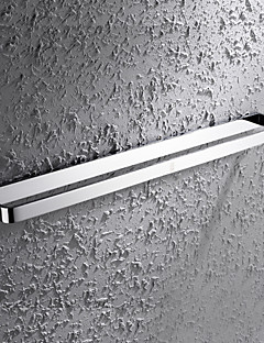 HPB®,Towel Bar Chrome Wall Mounted 60*7.6cm(23.6*3 inch) Brass Contemporary