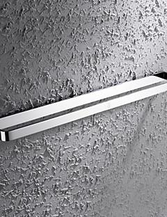 HPB®,タオルバー クロム ウォールマウント 60*7.6cm(23.6*3 インチ) 真鍮 モダン