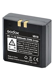 godox genopladeligt LiPo batteri (Li-ion 22wh dc 11.1v / 2000mAh) for Ving Speedlites (v850e / v860c / v860n)